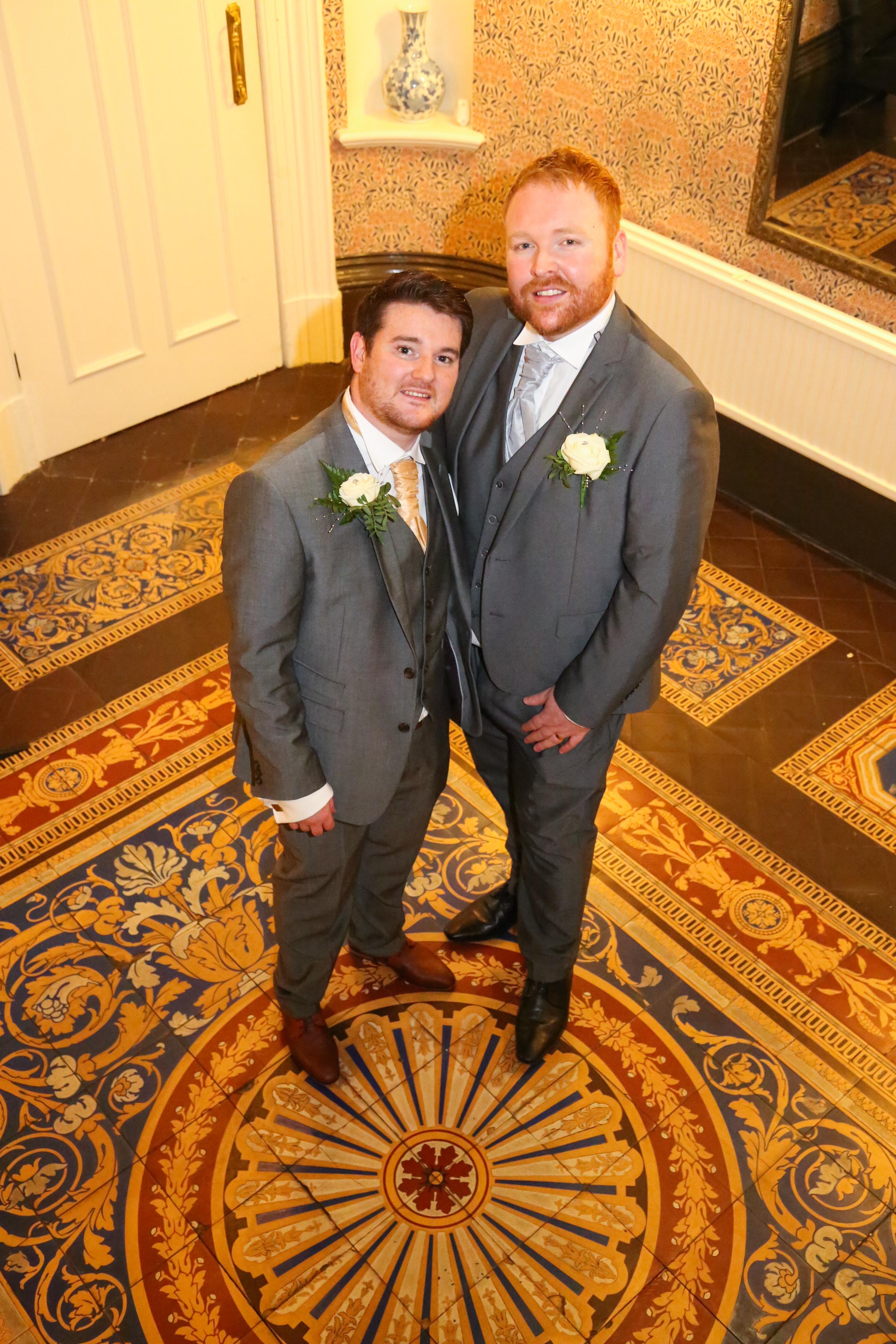 Micheal and Gareth