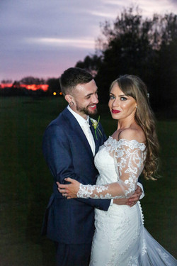 Heather and Louis at Formby Hall