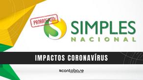 Prorrogação do DAS - Simples Nacional e MEI - Impactos Coronavírus