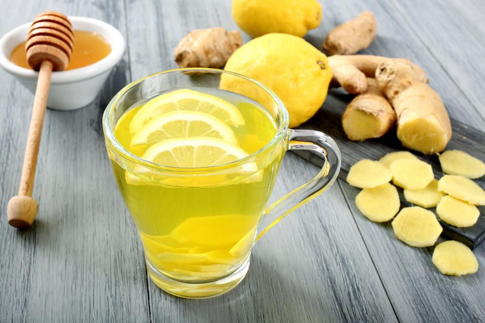 Ginger Lemonade Detox Elixir