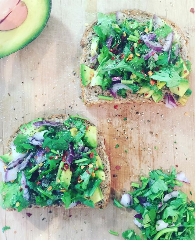 Detox Avocado Toast