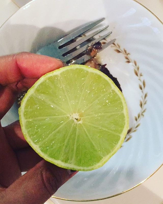 1/2 Lemon or Lime