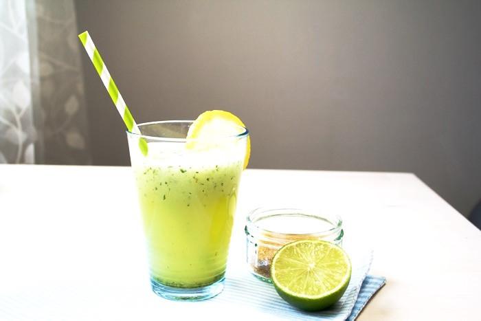 Detoxifying Mint Limeade