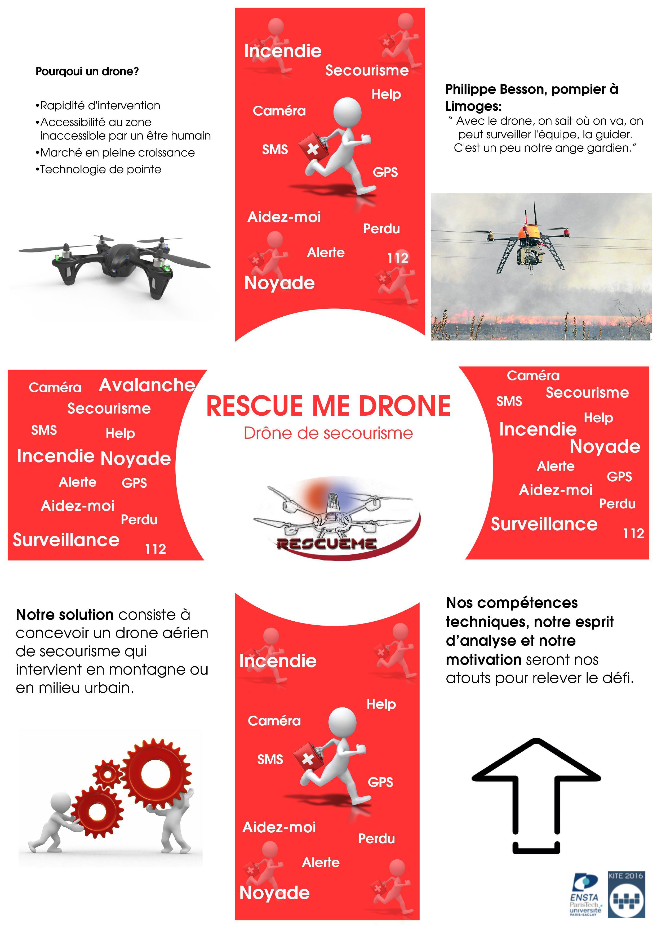Rescue Me Drone