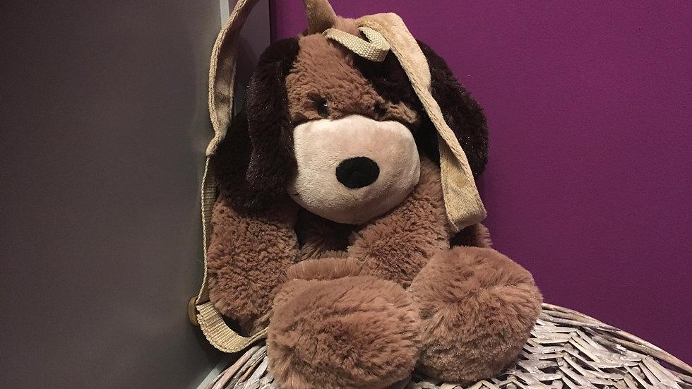 Cuddly Dog Back Pack