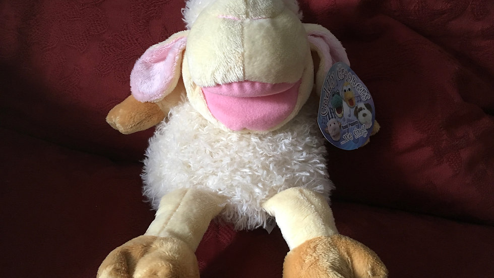 Musical Lamb Puppet Toy