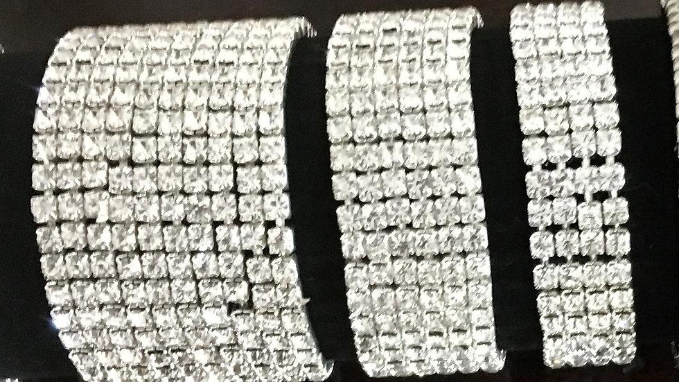 Diamante Stretch Bracelets From £6 - £9.50