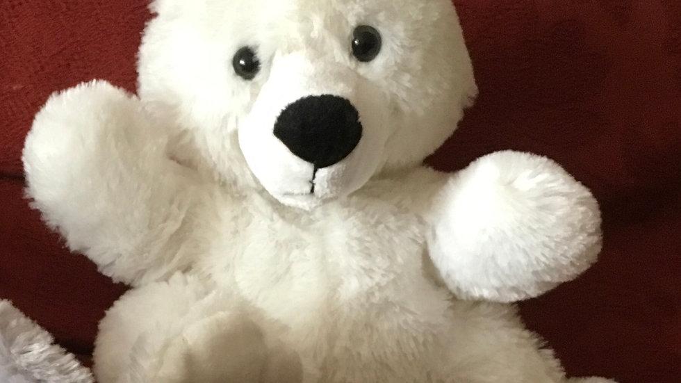 Hand Puppet Polar Bear