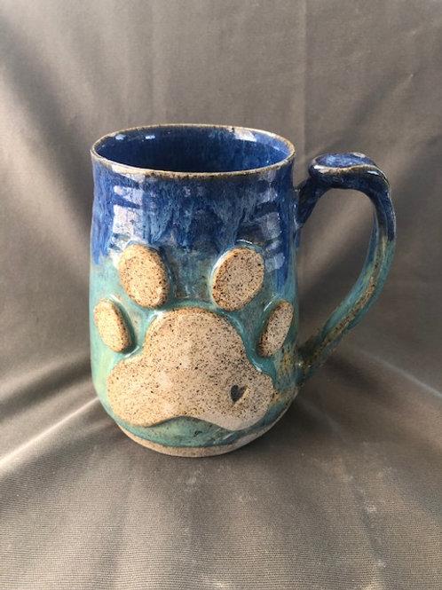 Large Dog Paw Mug