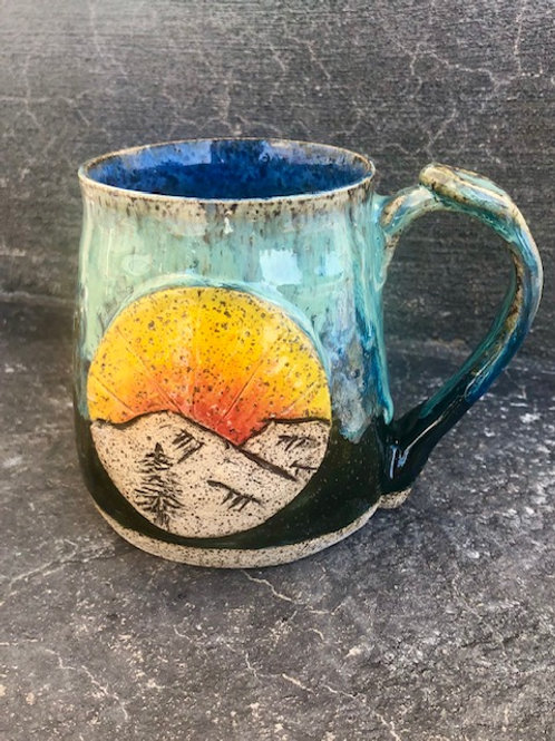 Sunrise Camp Mug - 14 oz