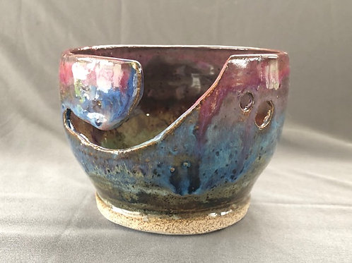 Hand glazed Yarn Bowl / Medium
