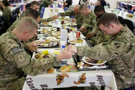Thank you to our Troops