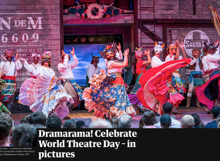The Guardian is celebrating World Theatre Day in Pictures