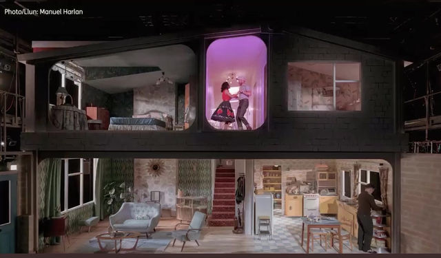 """Building the Set for """"Home, I'm Darling"""""""