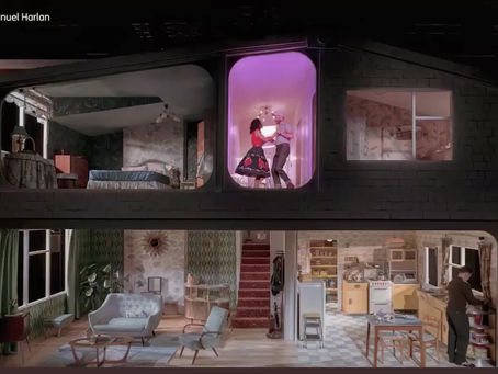 "Building the Set for ""Home, I'm Darling"""