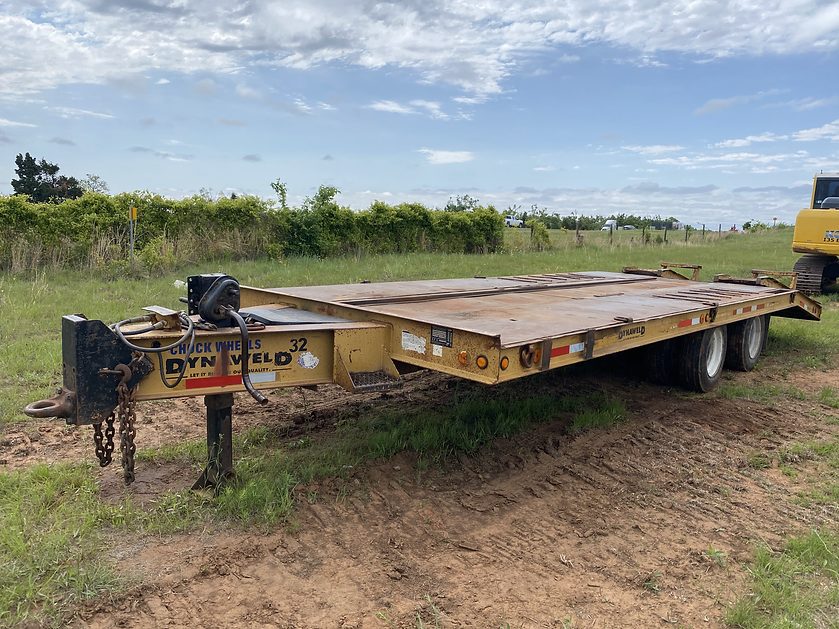 dynaweld equipment trailer pintle hitch for sale