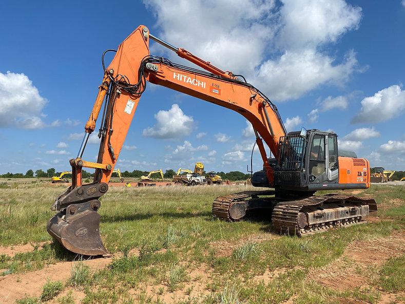 Hitachi ZX270lc-3 trackhoe for sale rent auction bank repo consignment for sale zaxis zx270lc-3 zx 270 lc-3