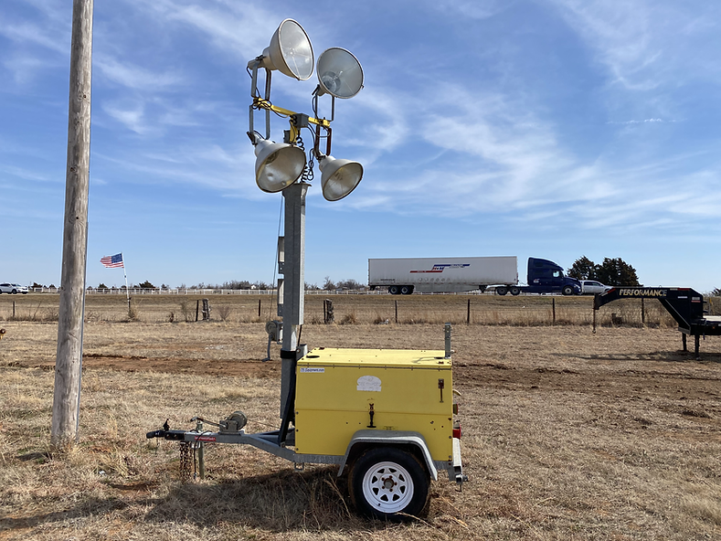 boss chambers light tower for sale rent auction bank repo consignment