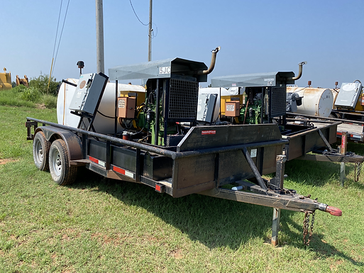 27KW John Deere Diesel Generator Trailer for sale rent rental auction bank repo consignment farm ranch repo grow house commercial home house diesel big large irrigation irrigator oil field cheap used