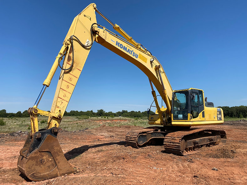 Komatsu Pc300lc-8 excavator pc 300 lc - 8 trackhoe for sale rent rental auction bank repo farm consignment construction demo demolition dirt work