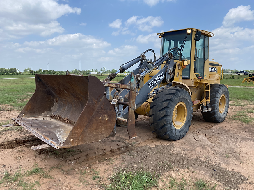 John Deere TC54H Tc 54 H WheelLoader FrontLoader Wheel Front Loader Tool Carrier for Sale rent farm construction cheap used