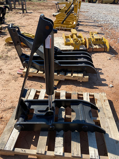 14 x 40 hydraulic backhoe excavator thumb mini midi