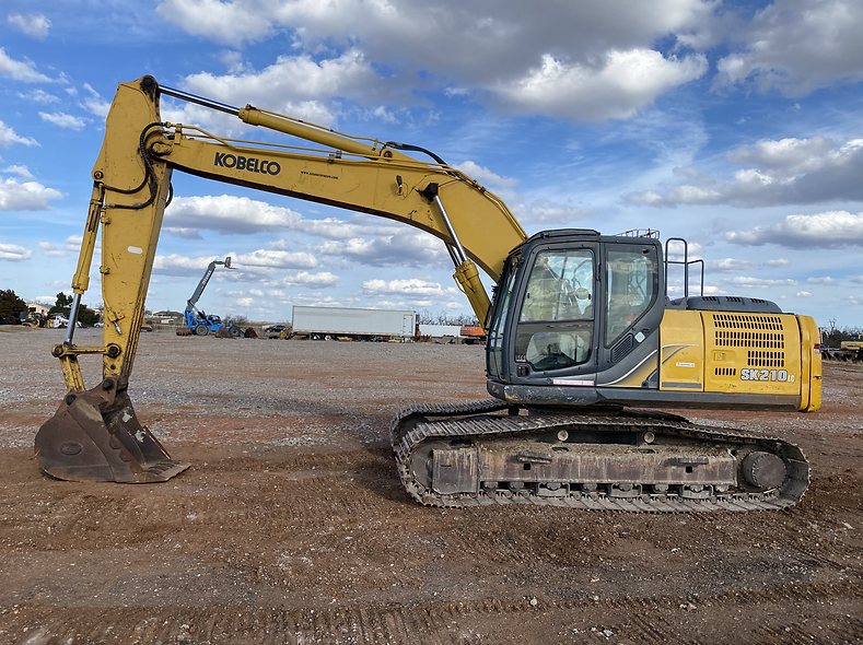 kobelco sk210lc-9 sk 210 lc - 9 trackhoe for sale rent auction bank repo consignment lease return bank repo cheap used new komatsu