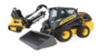 Compact Equipment for sale rent aucton repo bank consinent cheap used trencher bobcat new holland kubota skidsteer skid steer tracks tracked loader