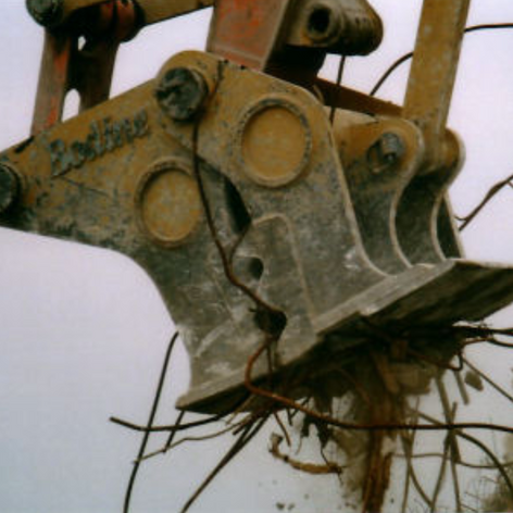 Example Of Installed Pulverizer