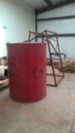 Equipmet Diesel Fuel Tank Stand