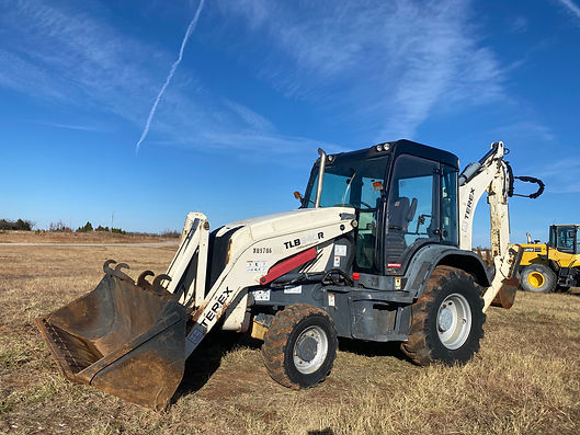 terex TLB840R TLB 840 R Mecalac Backhoe loader for sale rtent auction bank repo consignment for sale rent rental