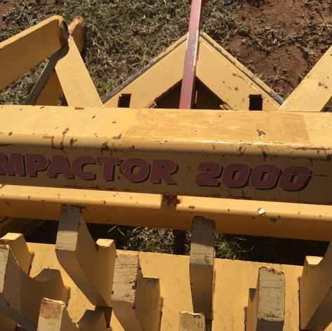 Impactor 2000 Scarifier