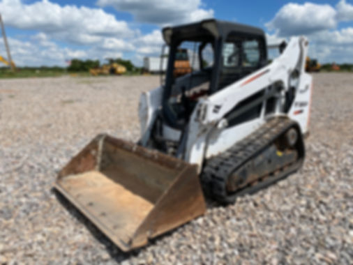 Bobcat T590 Skid Steer For Sale rent auction bank repo