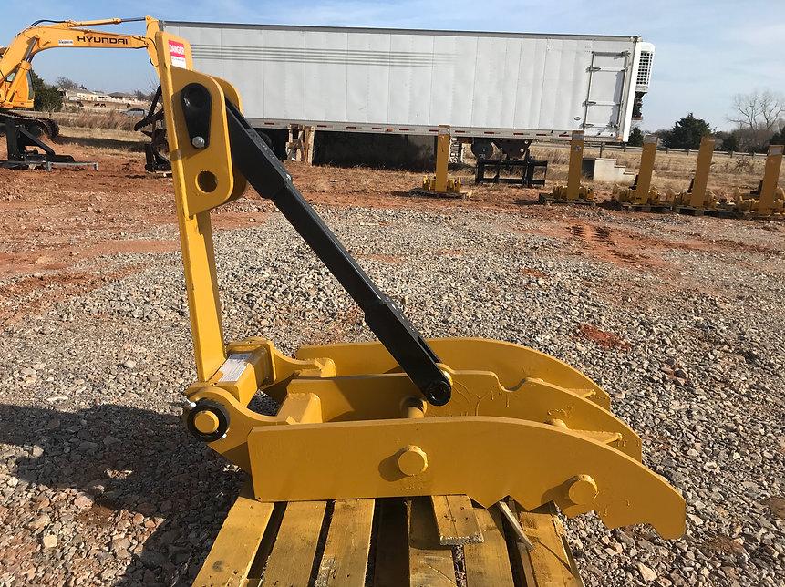 26 x 50 manual excavator trackhoe thumb