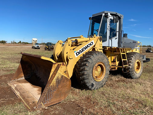 Daewoo Doosan Loader Front Wheel Tire Tires for sale rent rental auction bank repo consignment