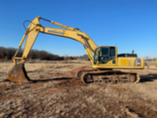 Komatsu PC300LC-8 pc 300 lc-8 excavator hydraulic trackhoe for sale rent rental consignment auction bank repo texas tx oklahoma ok