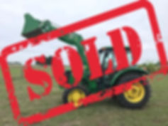 JD tractor Sold