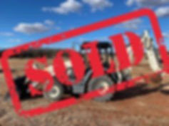 Terex Sold tlb840ps tlb 840ps backhoe loader new used parts cheap auction bank repo