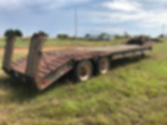2000 Nuttall Equipment Trailer For Sale
