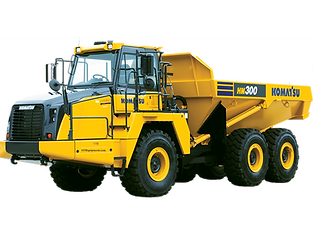 HM300 Komatsu Articulated articulating offroad off road dumpo truck dumptruck for sale