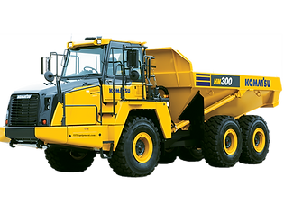 HM300 Komatsu Articulated articulating offroad off road dumpo truck dumptruck for sale