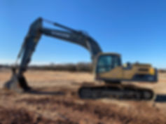 Volvo EC 300 DL e300dl excavator hydraulic trackhoe for sale rent rental consignment auction bank repo texas tx oklahoma ok