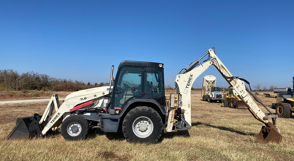 Terex mecalac backhoe loader for sale auction bank repo consignment for sale rent rental