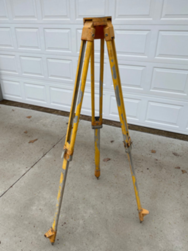 Extendable Tripod Survey For Sale