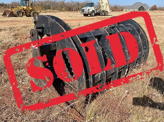 Sold Grapple skidsteer skid steer kubota hitachi asv john deere cat caterpillar gehl jcb