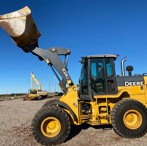 John Deere 624J Wheel Loader