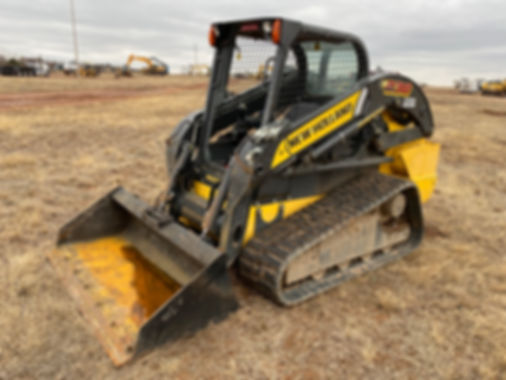 new holland newhollad c238 skidsteer tracked tracks skid steer bobcat for sale rent auction repo consignment bank cheap new