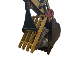 Excavator Thumb backhoe manual hydraulic new used bracket rigid rent rental consignment auction for sale Oklahoma