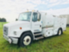 Used For Sale Freightliner Fuel, Lube & Service Truck