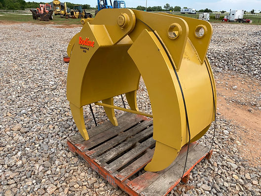 Excavator bodine heavy duty grapple